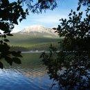 Unser Blick vom 1. Campground