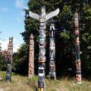 Totempfaele, Stanley Park Vancouver