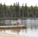 Pause am Gull Lake