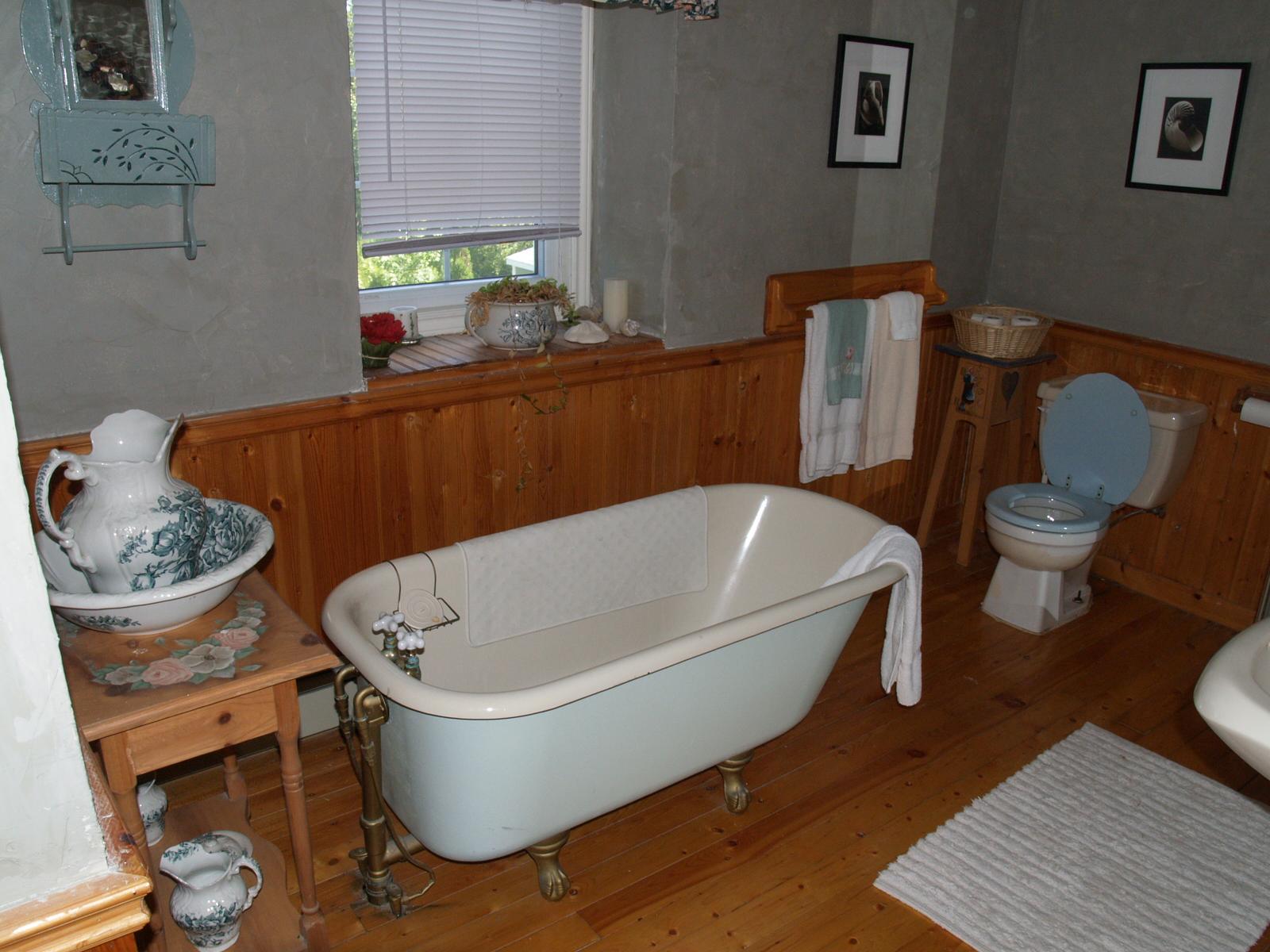 Badezimmer im B&B