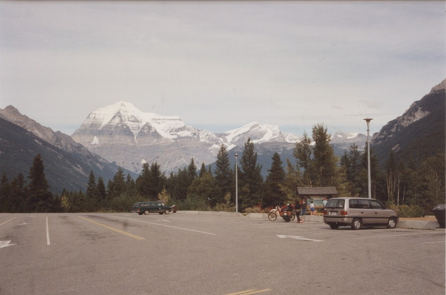 Mount Robson in BC
