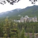 Fairmont Hotel in Banff