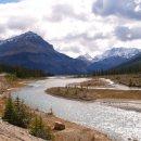 Flusslauf in den Rockies
