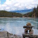 Inuksuk, Athabasca Falls