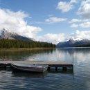 Maligne Lake naehe Jasper