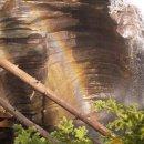 Regenbogen, Athabasca Falls