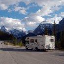 Wohnmobil in den Rockies