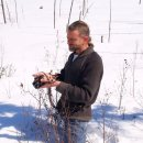 Beim letzten Spaziergang im Schnee