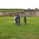 Wachabloesung in Louisbourg