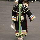 Traditionelle Taenzerin