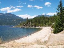 Faehrkopf am Kootenay Lake