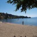 Beach in Naramata, BC
