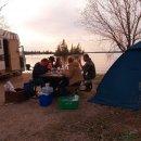 Abendessen direkt am Lake